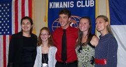 2014 HHHS Scholarship winners