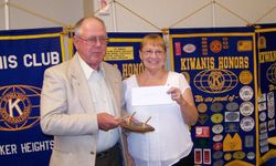 Kiwanian of the Year Norm Dunbar