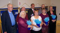Gifts of Appreciation to the 2014-15 Officers & Board