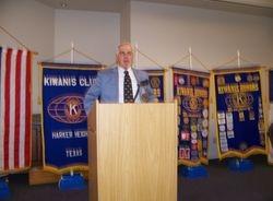 Club President David McClure