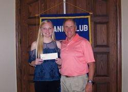 MG Stewart C Meyer Scholarship recipient