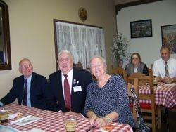 Ron Dalton Pres Elect, Board Charles Sweeney & Jeanette McNiesh