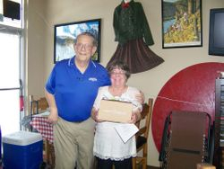 Lt Gov Gift Darrel Charlton & Jeanne Passalugo