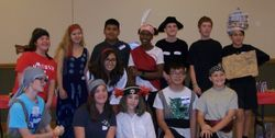 Swashbuckler Day at the HH Library