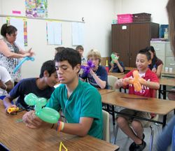 Learning to make balloon animals