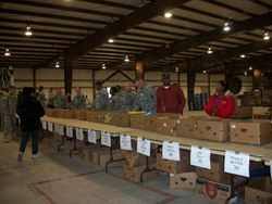 Food for Families annual food drive 2011