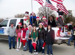 Killeen Christmas Parade 2011