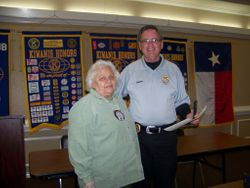 Eddie Lange, Bell County Sheriff