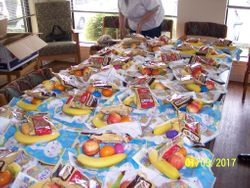 125 Easter plates for residents