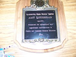 Amy's Award