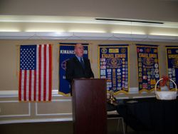 2013-14 Club President Paul Loughran