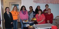 KeY Club members at Indian Oaks