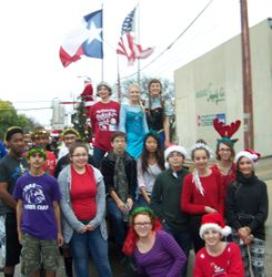 Killeen Christmas parade Dec 12, 2015