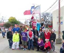 Parade with Key & Kiwanis members