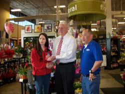 HEB donates a gift card for the Pancake Supper