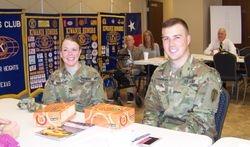 Lt. Loughran & Lt.Wallace