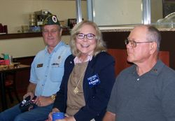 James Hoyle, Lt Gov Harriet Brodie & Norm Dunbar