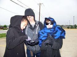 Lisa, Ian and Jennifer