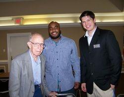 Gen (Ret) Robert Shoemaker with Earl Johnson & Matt Keller