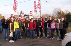 Killeen Christmas Parade 2012