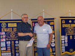 Steve Carpenter Certificate Appreciation