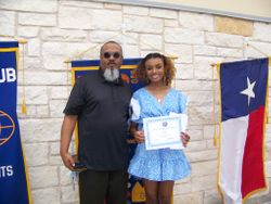 Alyce Keys & Dad