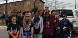 Builders & Key Clubs at the Veteran's Day Parade