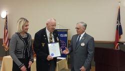 Richard Dinwiddie Legion of Honor 40 Yrs