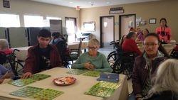 Christmas Bingo Day at Indian Oaks Nursing Center