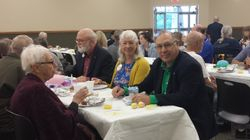 Breakfast after the Easter Sunrise Service