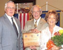 Kiwanian of the Year Bob Dunlap & Sue Dunlap