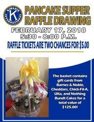 $125 Gift Card Basket Raffle