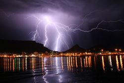 Storm over Cape Town 2