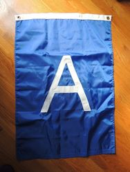 Custom Applique Flag