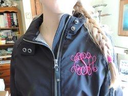 Close-up Jacket Monogram