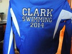 Swim Team Jacket Back
