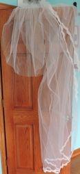 A mom's original bridal veil