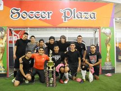 MEN'S OPEN SUNDAYS CHAMPS **GUNNERS**