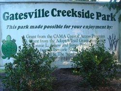 Bennett's Creek park, by Gatesville