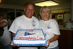 Commodore Walt and Judy Crawford