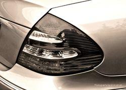Mercedes Benz tail lamp