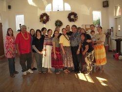 Oahu Councilman Nestor Garcia visits halau