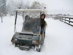 Go golf cart go!