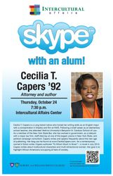 Skype with an Alum!