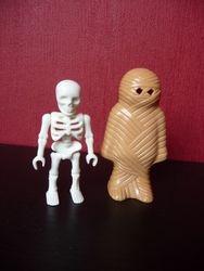 Skelet + Mummy