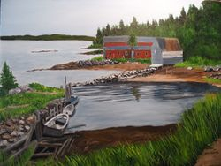 cove in nova scotia