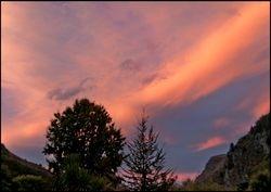 NZ evening sky