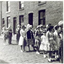 Wycliffe Sunday School Parade 1962/3   (1)