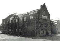 Christ Church School under demolition 1