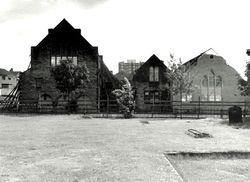 Christ Church School under demolition 2